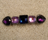 Barrette Purple